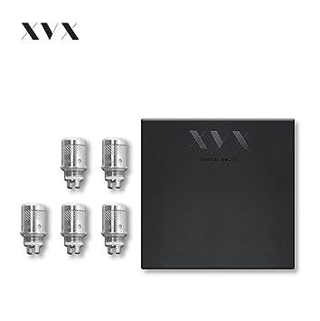 E Cigarettes Refillable Clearomizer Replacement Coil for XVX APEX \ Coils 5  Pack \ 0 5 Ohm Resistance \ Sub Ohm Electronic Cigarette Shisha Vape Pen