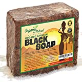 Organic African Black Soap - Natural Face & Body Wash For All Skin Types -Best Solution For Eczema, Dry Skin, Psoriasis, Scars, Dandruff, Pimples Mark Removal, Anti-fungal - 2 BONUS INCLUDED!