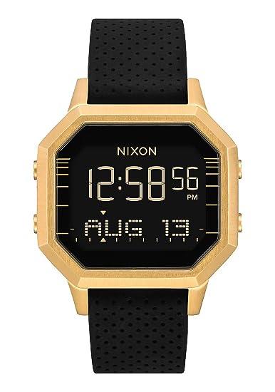 Nixon Siren SS - Reloj digital para mujer, color dorado y negro, 36 mm: Amazon.es: Relojes