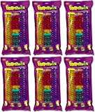 Kaytee CritterTrail Value Fun-nels Straight Tubes (6 x 1ct)