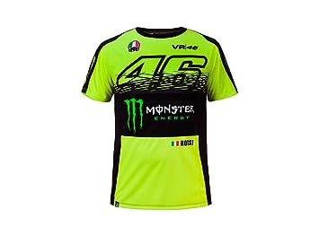 Valentino Rossi Vr46 Monster Offizielles T Shirt 2017 Xxl Amazon