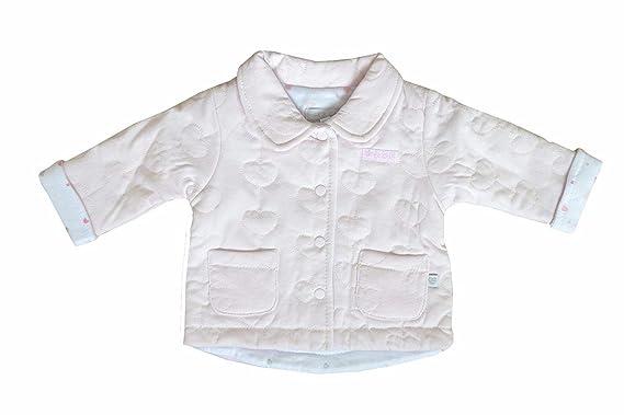 Bebé Niñas Chaqueta Con Cuello Rosa rosa: Amazon.es: Ropa y ...