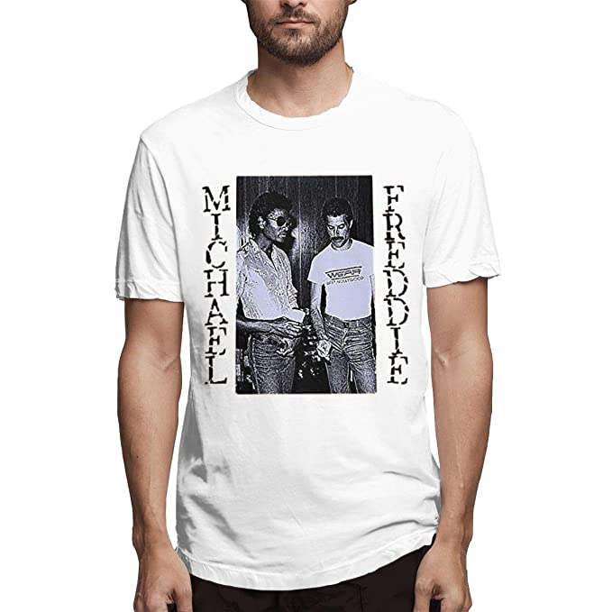 509a8c533d Amazon.com: Michael Jackson Meets Freddie Mercury Comfortable Men's ...
