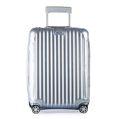 Amazon.com | Luggage Cover Protector Clear PVC Suitcase Protective Case with Black Zipper for RIMOWA Topas ... | Suitcases