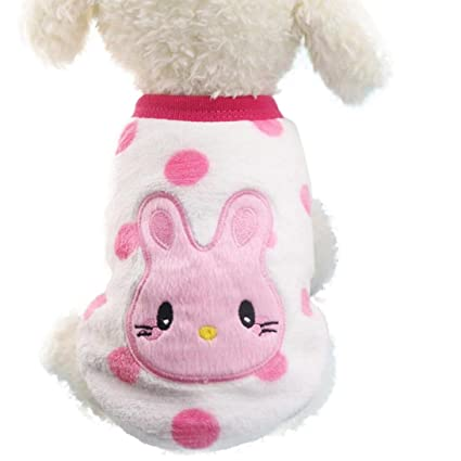 Ropa para Perros Amlaiworld Sudaderas Suéter para Perros Pequeños Cachorro Perritos Mascotas Caliente Suave Invierno Otoño