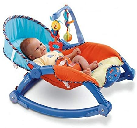 Buy Baby Bucket Newborn to Toddler Portable Baby Rocker, Blue Online at Low  Prices in India - Amazon.in