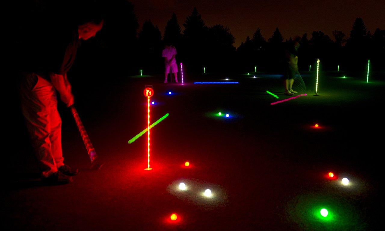 Moonlight Miniature Golf / Putting Green LED Golf Assortment Pro Series