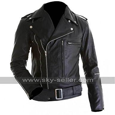 Terminator Arnold Schwarzenegger Judgement Day Biker Jacket