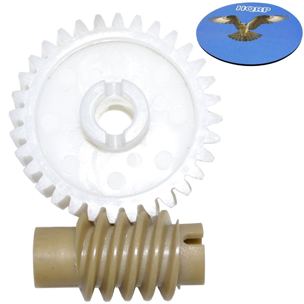 Hqrp Drive And Worm Gear Kit For Chamberlain 1100 7200 248735 48930d