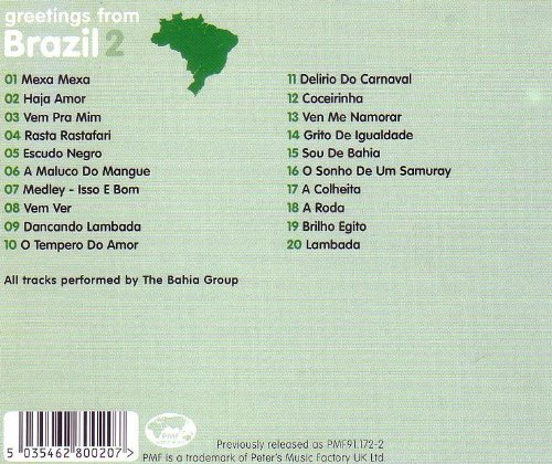 Greetings from brazil 2 by the bahia group amazon music m4hsunfo