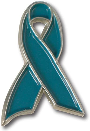 Amazon Com Ovarian Cancer Awareness Pin Clothing