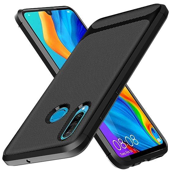 nuovo prodotto f02e9 1b7c5 Amazon.com: Huawei P30 Lite Case, Huawei P30 Lite Cover,Slim ...