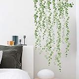 DERUN TRADING Vinilo decorativo verde, Pegatinas de Pared Sala de Estar Dormitorio Removible Etiquetas de la pared…