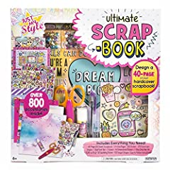 Create unique and personal pages that tell your story with the Just My Style Ultimate Scrapbook kit! Explore your creativity as you replay precious memories and exciting times using colorful stickers, shimmering gemstones and more. Each page ...