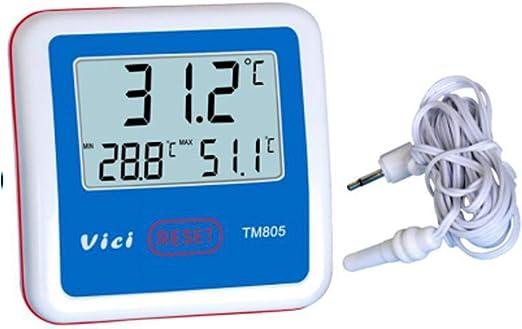 Termómetro TM805 Refrigerador/congelador Termómetro Pantalla ...
