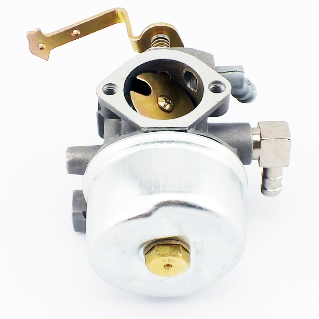 Qazaky Carburetor With Gasket Fuel Filter Line Primer Bulb For Tecumseh Hm100 640152a 640152 640023 640051 640140