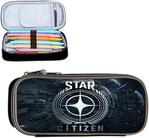 Paisaje DIY lápiz star-citizen Pen Bolsa para Niños Estudiante diseño único caso caja niños impermeable niño creativo regalos Durable cartera: Amazon.es: Oficina y papelería