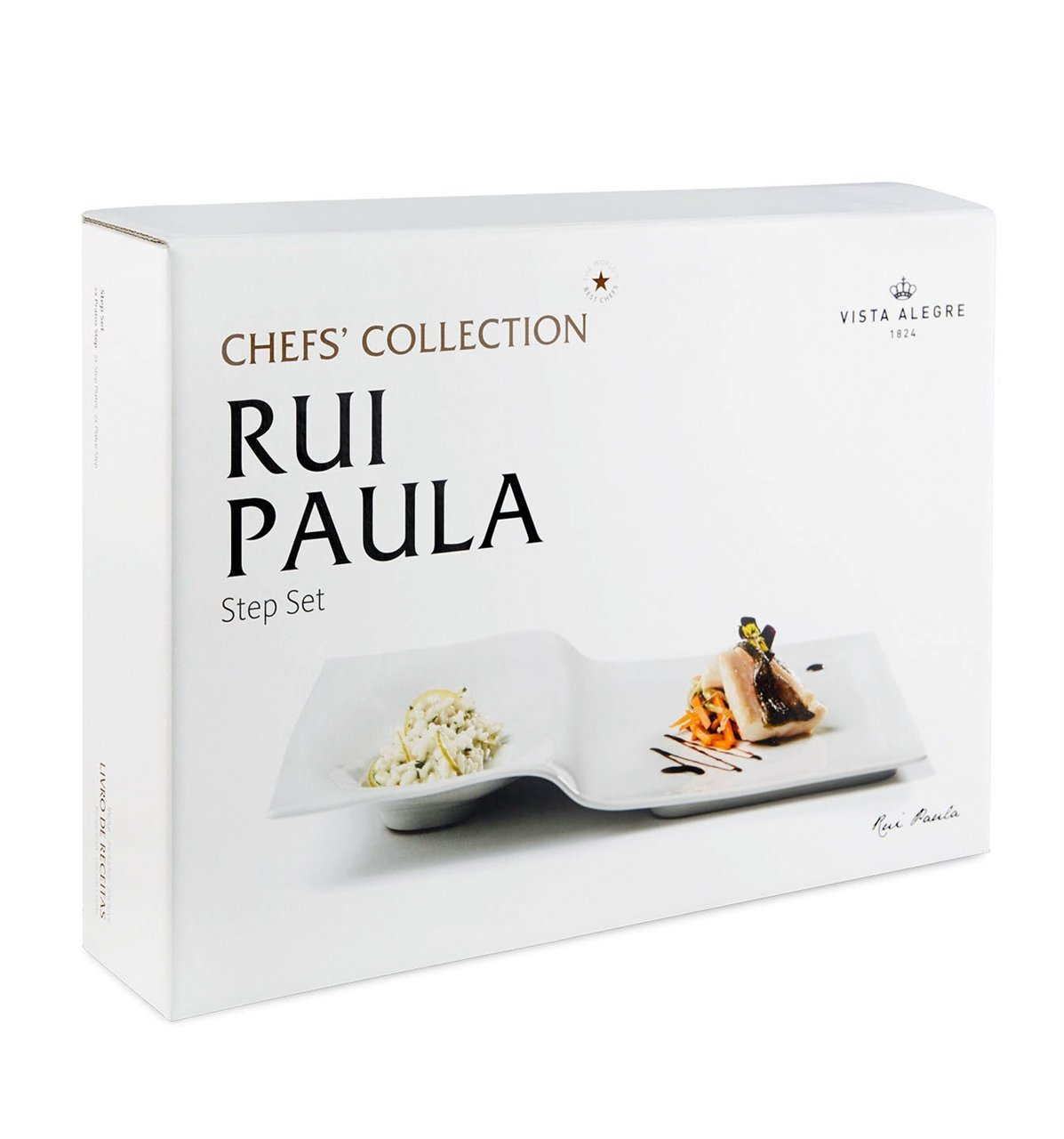 VISTA ALEGRE - Chefs' Collection by Chef Rui Paula (Ref # 21120620) Porcelain Step by Unknown