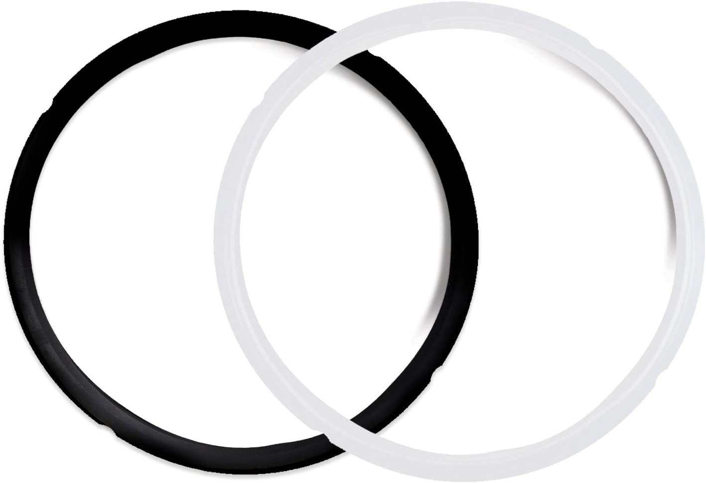 Pack of 2 Silicone Sealing Rings for 5 & 6 Quart - Fits IP-DUO60, IP-LUX60, IP-DUO50, IP-LUX50, Smart-60, IP-CSG60 and IP-CSG50