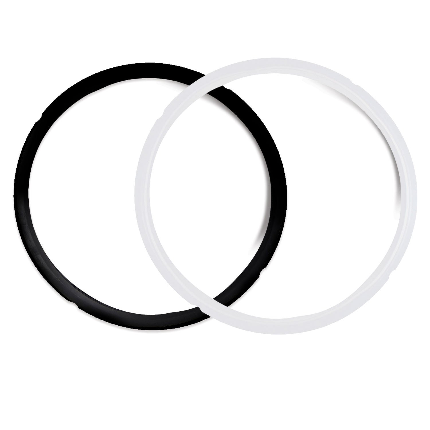 Pack of 2 Instant Pot Silicone Sealing Ring - Fits IP-DUO60, IP-LUX60, IP-DUO50, IP-LUX50, Smart-60, IP-CSG60 and IP-CSG50 Housewares Solutions