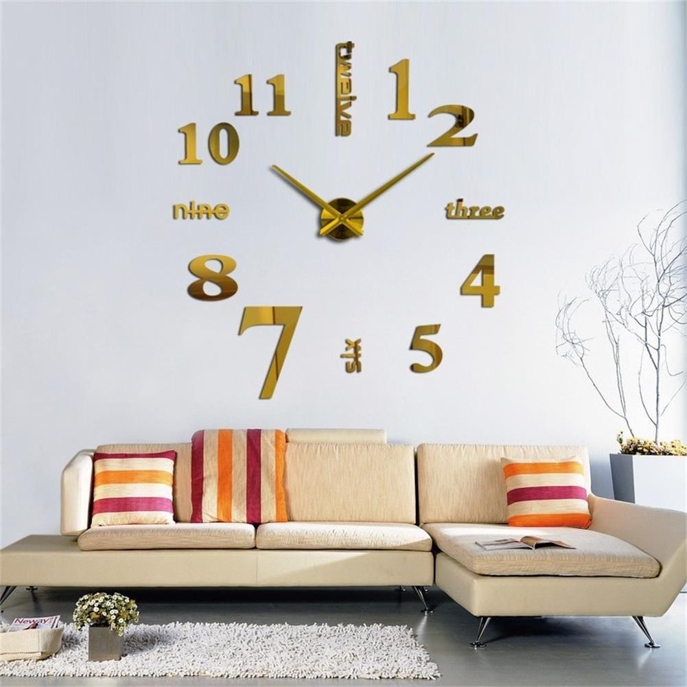 Amazon.com: New 3D DIY Wall Clocks Modern Design Meeting Room ...