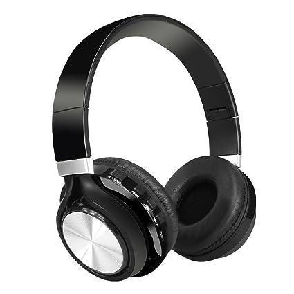 UGI® Auriculares plegables estéreo inalámbricos Bluetooth sobre la oreja Auriculares inalámbricos y con cable Modo
