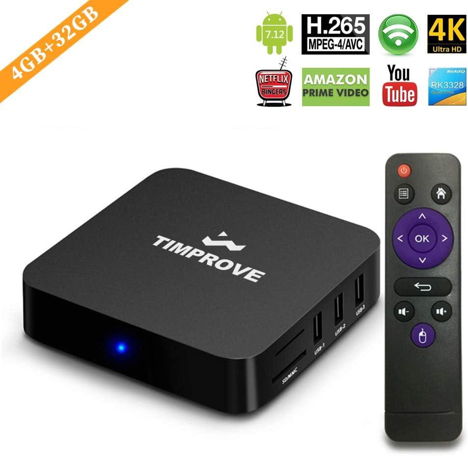 Amazon.com: TIMPROVE - Caja de televisión con procesador ...