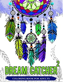 dream catcher coloring book for adults native american dream catcher feather designs for all - Native American Coloring Book