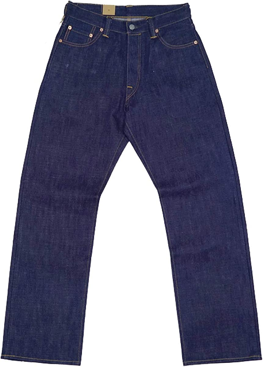 1920s Men's Pants, Trousers, Plus Fours, Knickers Vintage 16oz Rigid Jeans Red Line Selvage Denim $135.99 AT vintagedancer.com