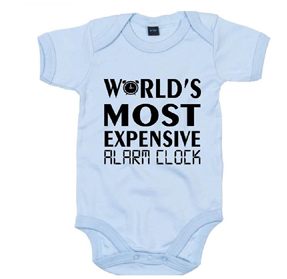 The Baby Onesie Co Worlds Most Expensive Alarm Clock Funny Infant