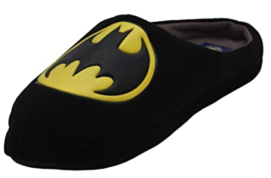 Mens Batman Superman Grinch Novelty Slippers Superhero Shoes Size