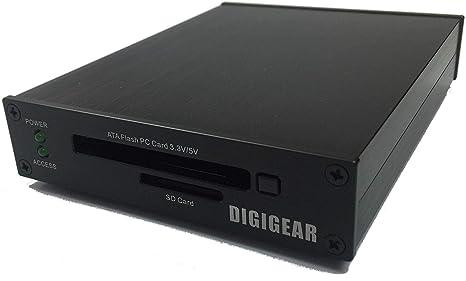 Digigear ATA FLASH PCMCIA PC Card & SD/SDHC/SDXC lector de ...