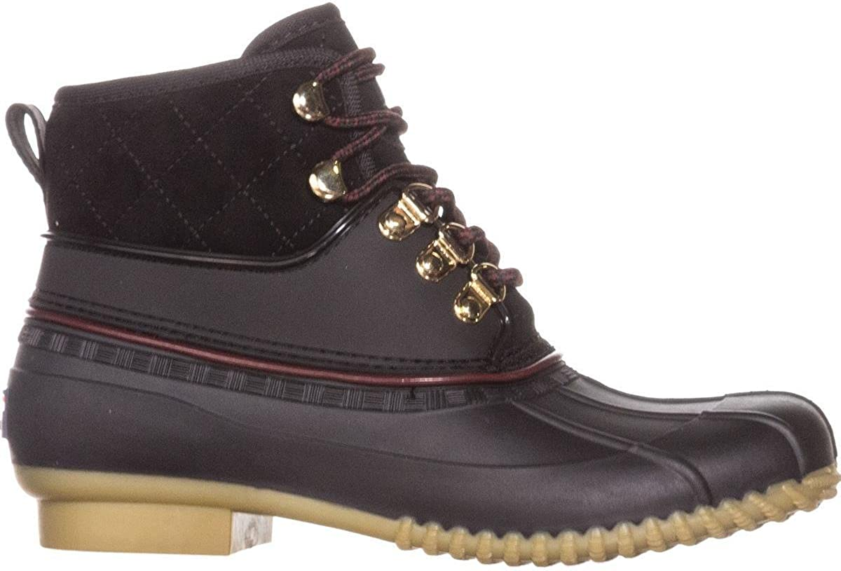 Tommy Hilfiger Womens Rinah Ankle Lace Up Rain Boots