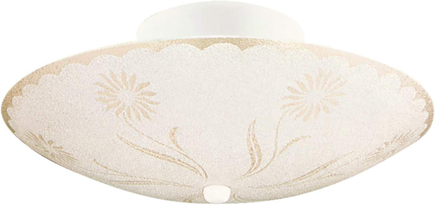 Design House 501619 2 Light Ceiling Light, White