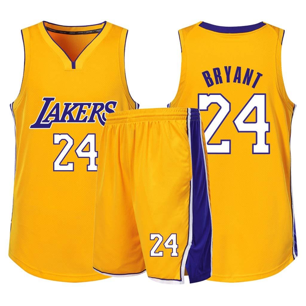 Xmeng Baloncesto Masculino # 24 Kobe Bryant Los Angeles Lakers NBA Swingman Jersey