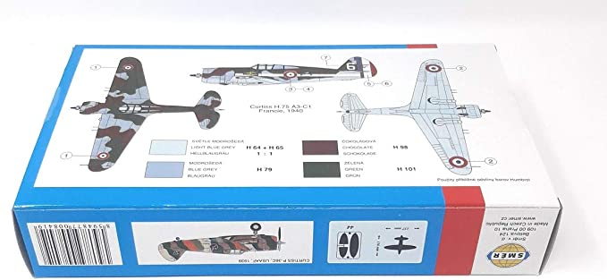 SMER Modellbau Kunststoff Modellbausatz Milit/är 1:72 Flugzeug Mig-195