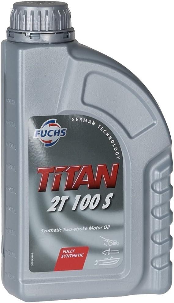 Fuchs Titan 2t 100s 2 Stroke Engine Oil 1 Litre Tin Auto