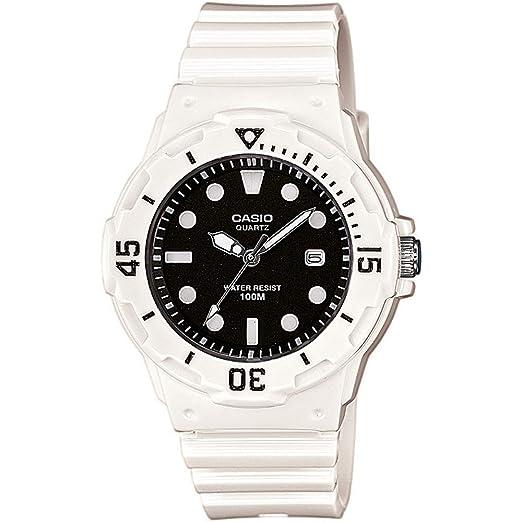 Casio Reloj Analógico para Mujer de Cuarzo con Correa en Plástico LRW-200H-1EVEF: Amazon.es: Relojes