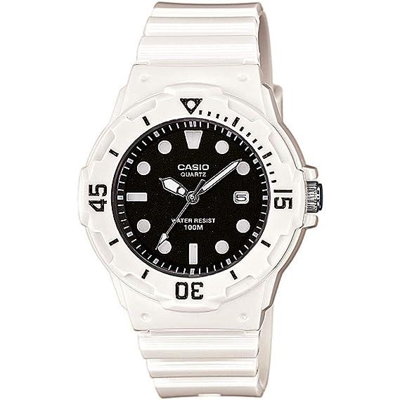 383aecd5cdae Casio Reloj Analógico para Mujer de Cuarzo con Correa en Plástico LRW-200H-1EVEF   Amazon.es  Relojes