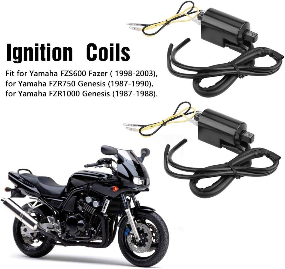 Motorradzubeh/ör Z/ündspule f/ür FZS600 Fazer FZR750 FZR1000 Genesis