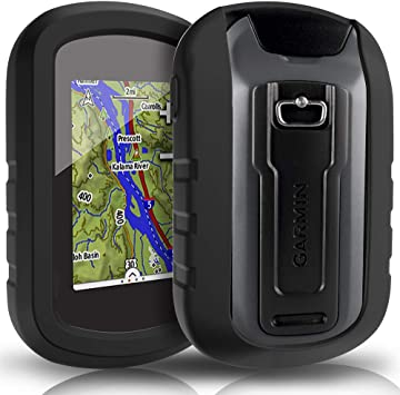 TUSITA Funda para Garmin eTrex Touch 25 35 35t - Funda Protectora de Silicona Skin - Accesorios de Mano GPS Navigator (Negro): Amazon.es: Deportes y aire libre