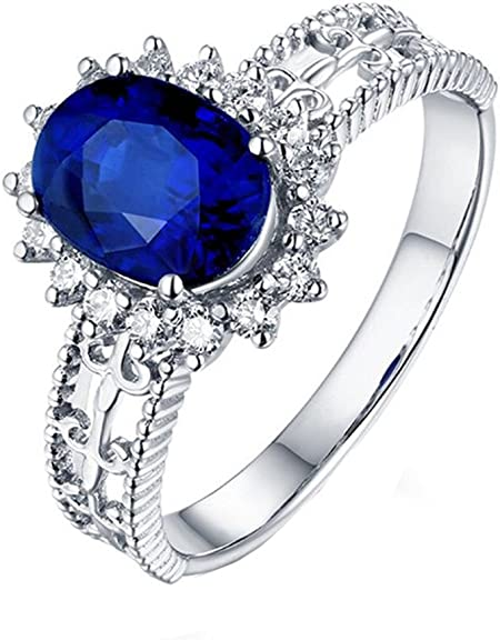 bague diamant bleu homme