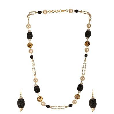 110750ce7ecf Efulgenz - Conjunto de Collar y Pendientes de Bisutería para Mujer ...