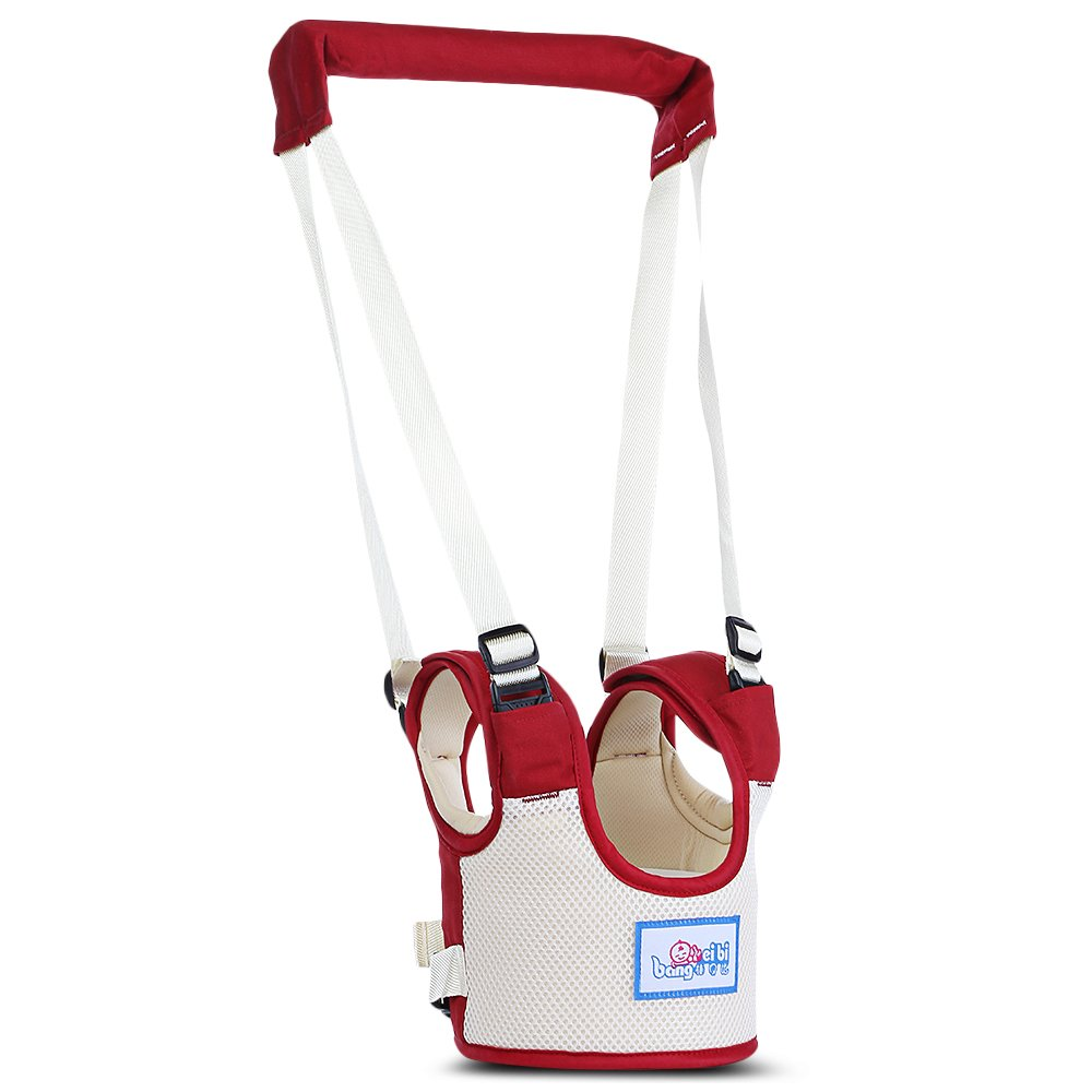 Kidsidol Baby Walker Harness Walking Assistant Toddler Kids Walking Safety Belt Dual Use Suitable for Infant Baby Toddler Mommy/'s Great Helper Cadetblu