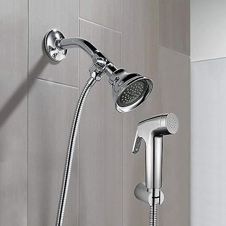 REEGE Dog Shower Sprayer Attachment Set For Pet Bathing And Dog Washing  Bathroom Sprayer Shower