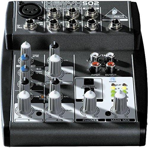 BEHRINGER XENYX-502