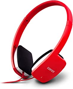 Edifier K680 Stylish Over-Ear Computer Headset - Perfect for Gaming and Music - Red