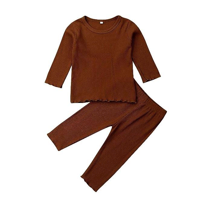 Amazon.com: LUOTIAN-0 - Conjunto de pijama de manga larga y ...