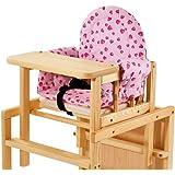 Pinolino 58350-7S - Sitzverkleinerer Komfort, Stoff Herzchen rosa
