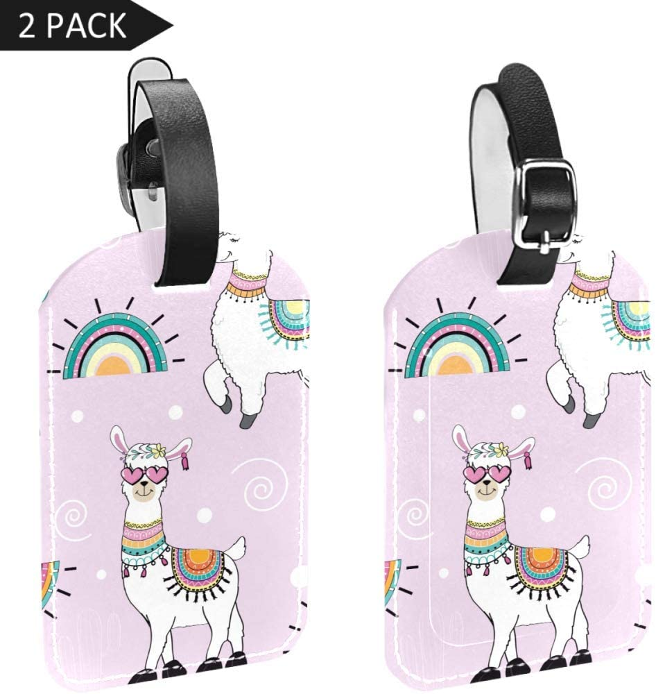 Dragon Pattern Cruise Luggage Tag For Travel Tags Accessories 2 Pack Luggage Tags